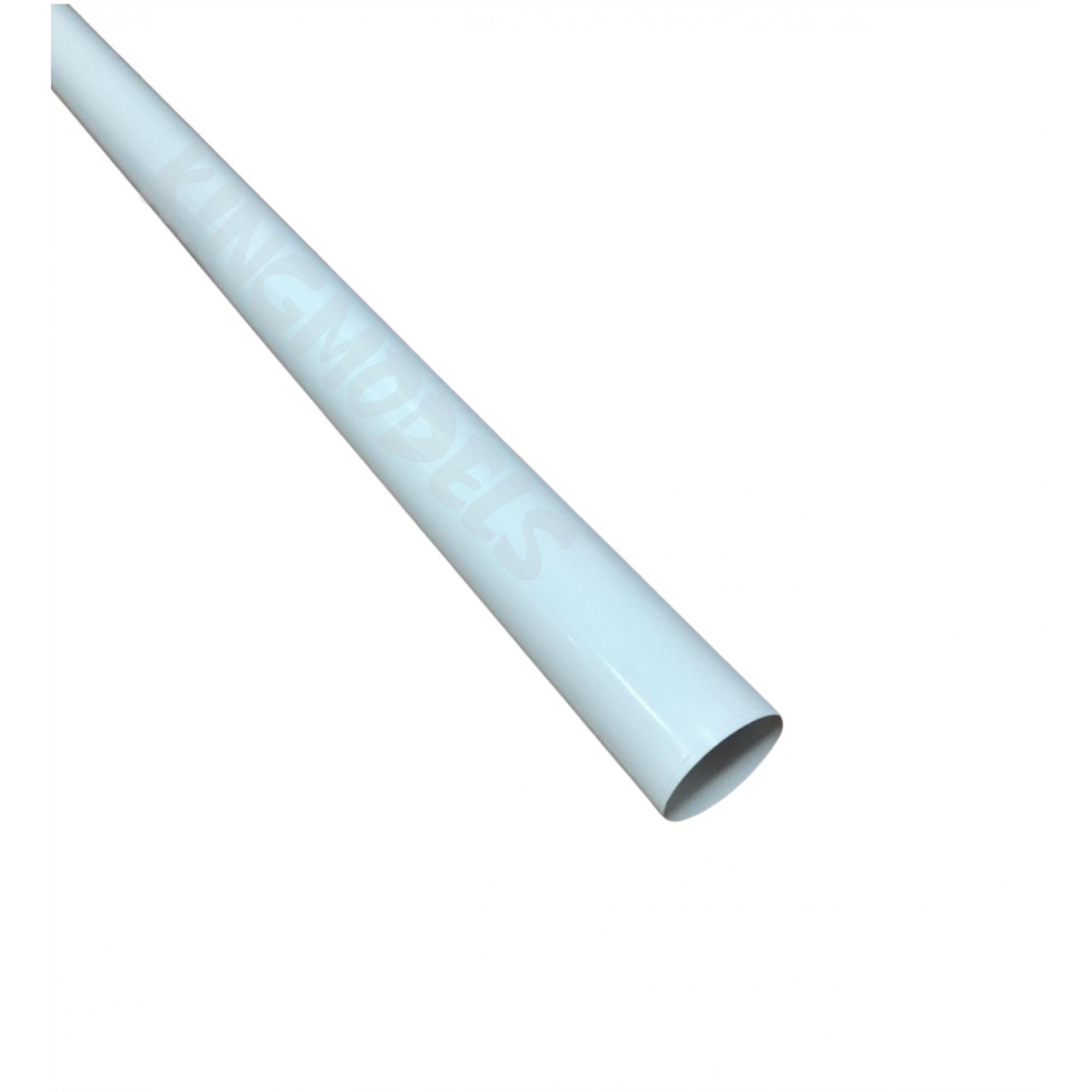 Chinakote (monokote)- Branco Sólido - 640mm - 1x Metro  - King Models