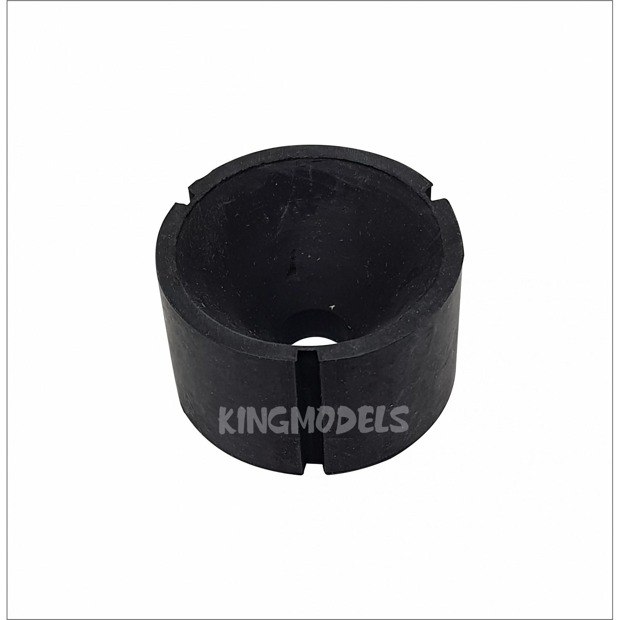 Cone De Silicone Grande - Uso Em Starter Elétrico - 52x30mm  - King Models