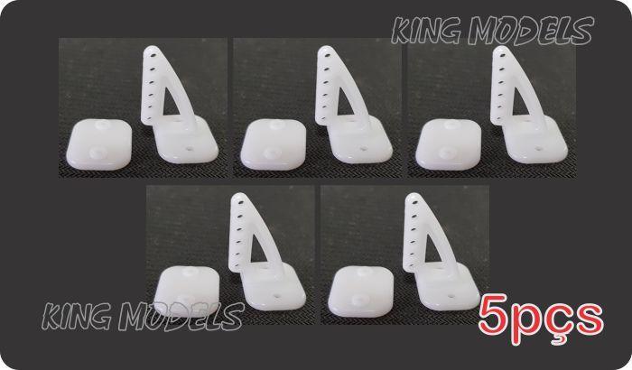 Conjunto 5 Horns 20 X 26 Aeros Médio Porte + 10 X Parafusos  - King Models