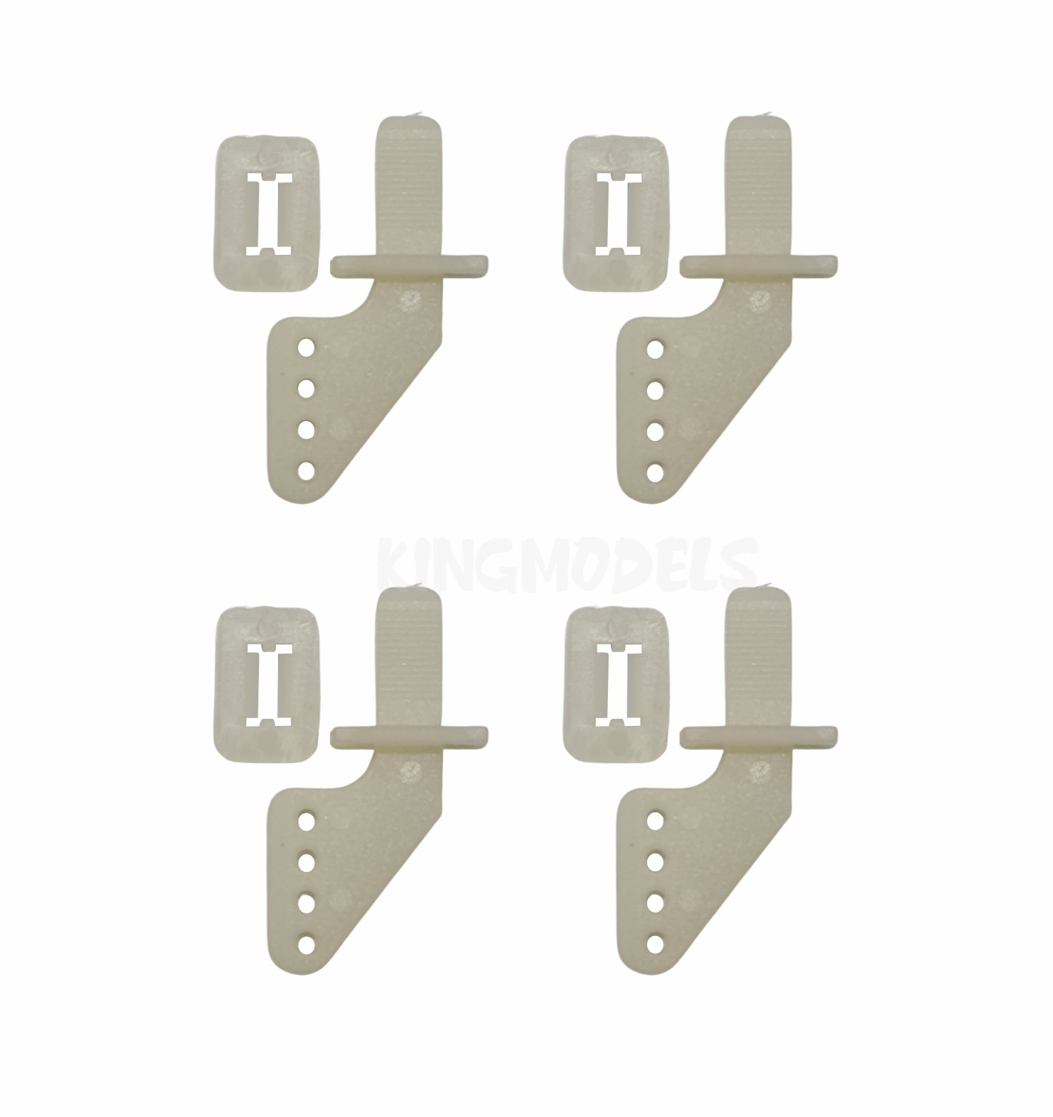 Conjunto De 4 Horns Auto-travantes Para Aeromodelo Elétrico  - King Models