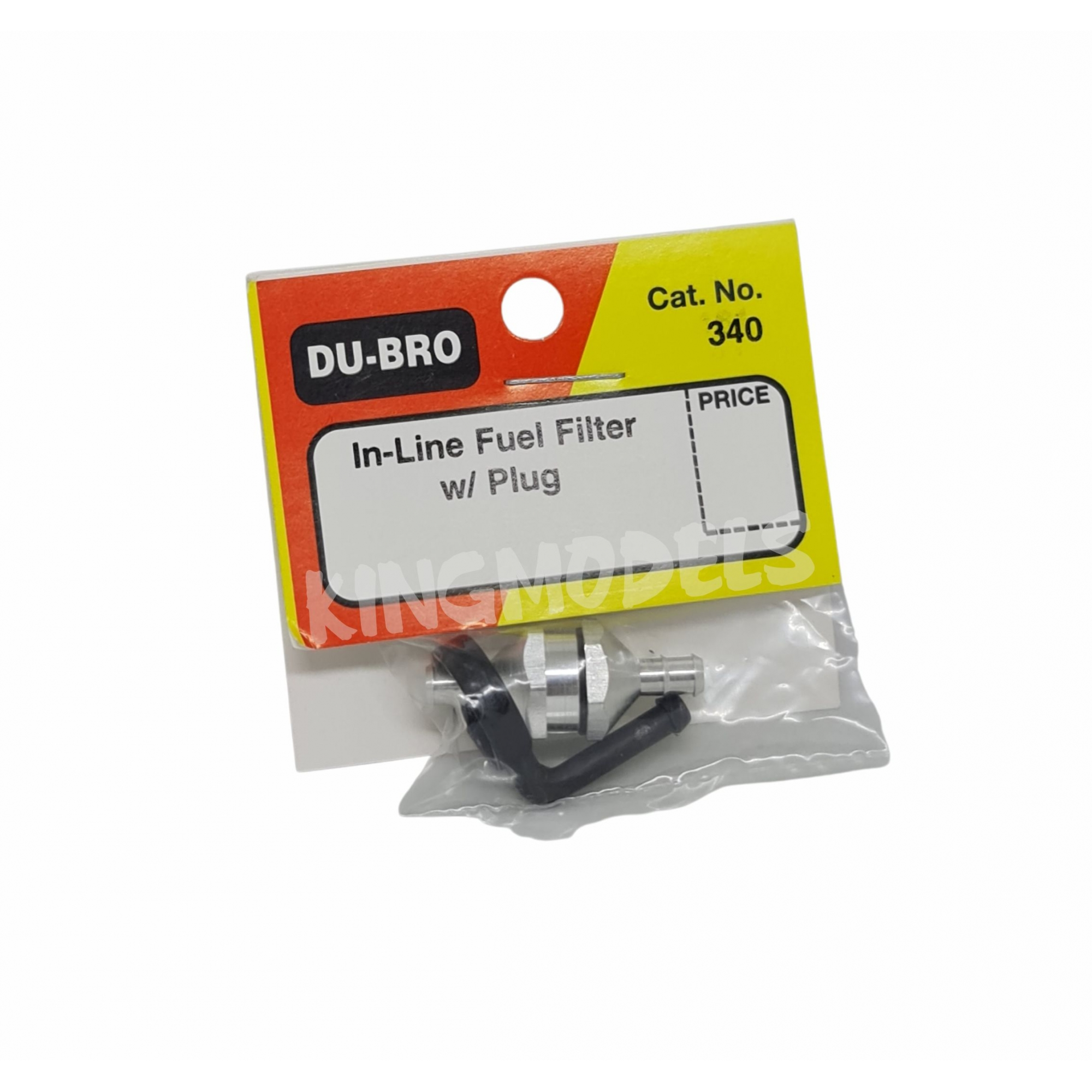 Filtro Para Aeros Glow/gasolina Dubro - Alumínio - Dub340  - King Models