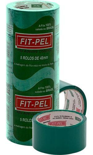 Fita Adesiva Para Entelagem - 48mm(larg.) X 45mts(Comp.) - Cor:verde  - King Models