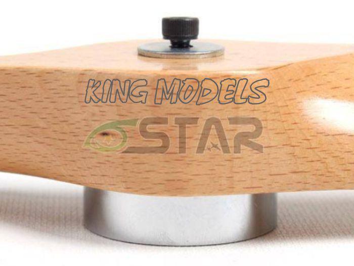 Gabarito Para Furar Hélice - Motor Dle Dla Rcgf - Com Brocas  - King Models