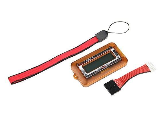 Indicador De Voltagem Para Lipo - 2 A 6s - Dlux  - King Models