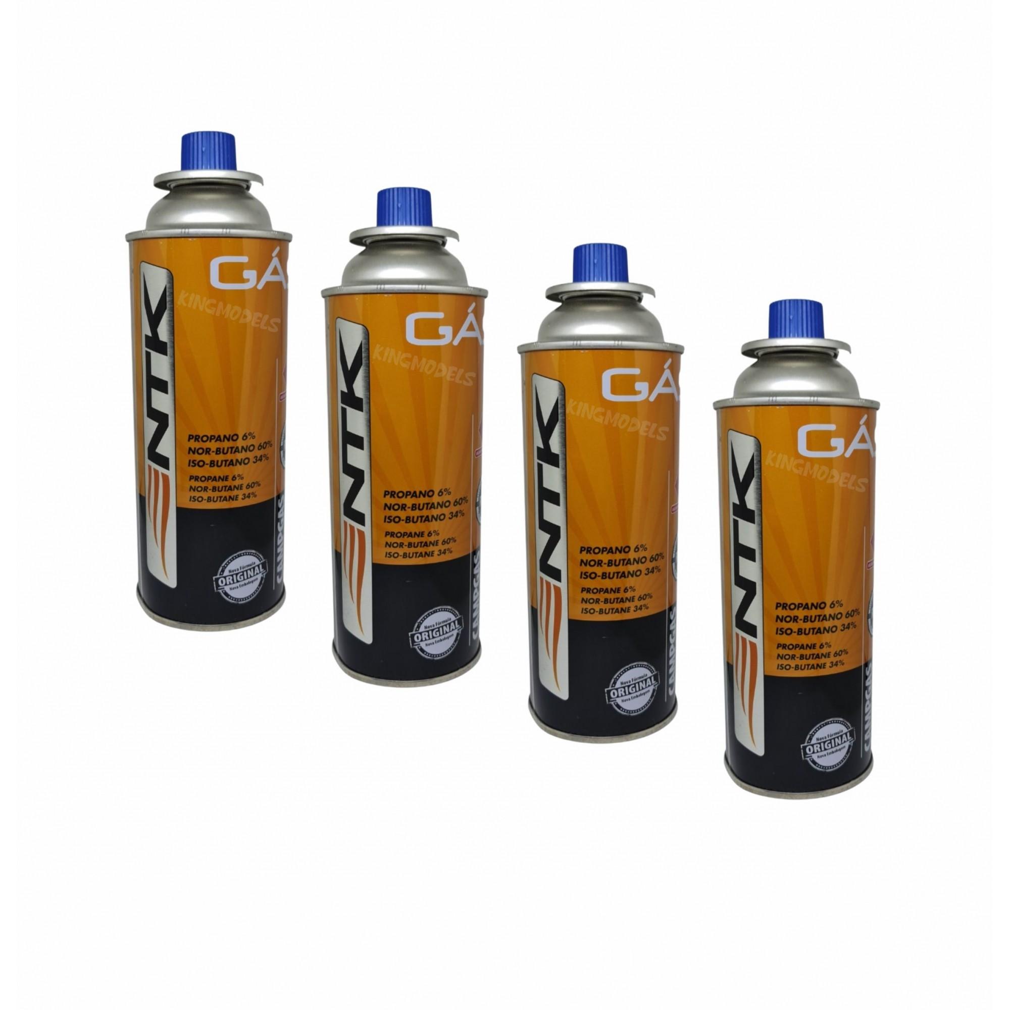 Kit Com 4 X Refil De Gás Butano Náutika -fogão/maçarico-227g  - King Models
