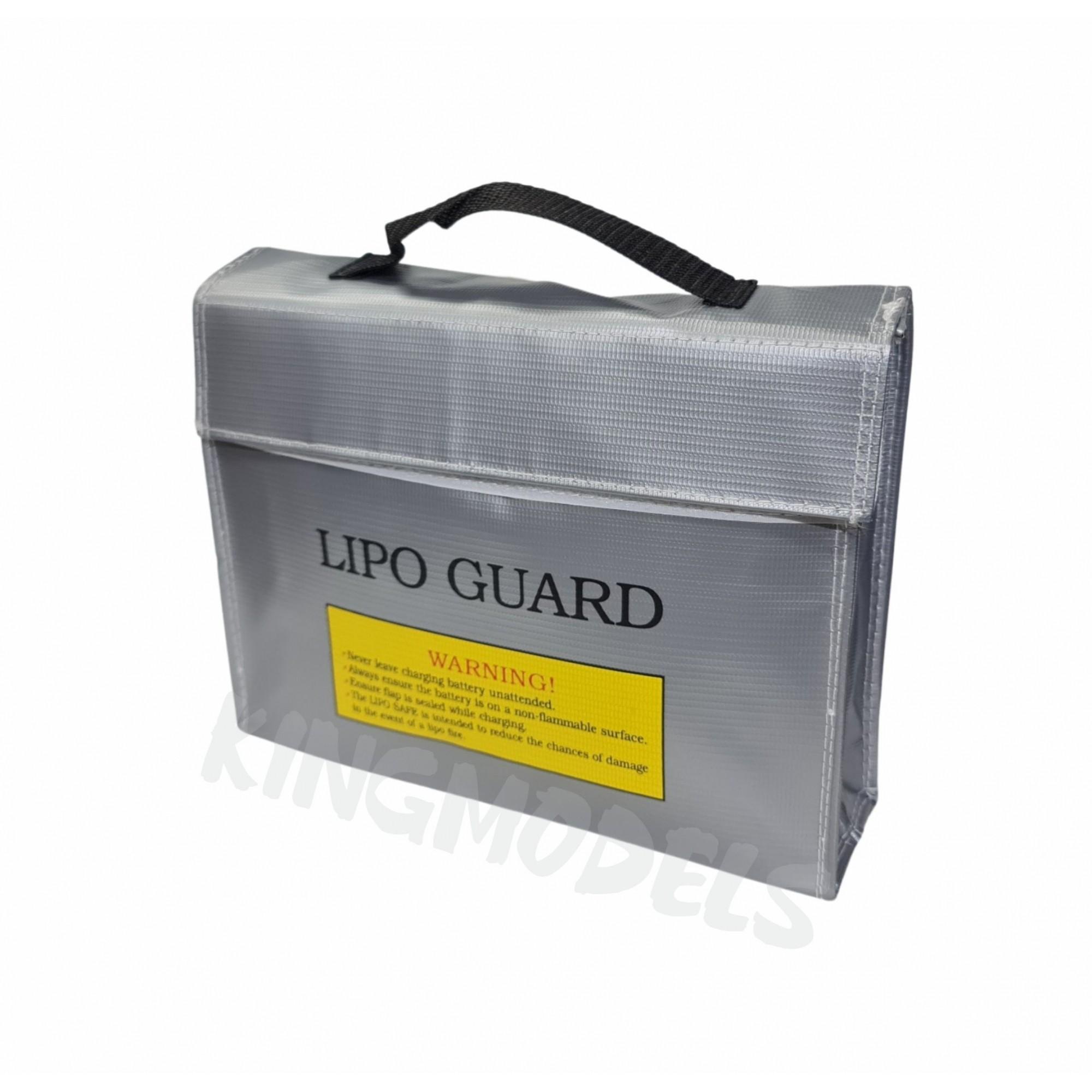 Lipo Bag Anti-chamas Para Baterias Lipo - 24 X 19 X 6 - Bolsa  - King Models