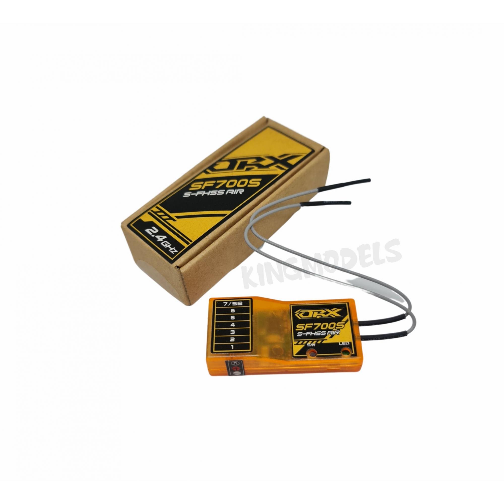 Micro Receptor Orange Futaba-7ch-2.4ghz-sf700s-fhss-s.bus/hv  - King Models