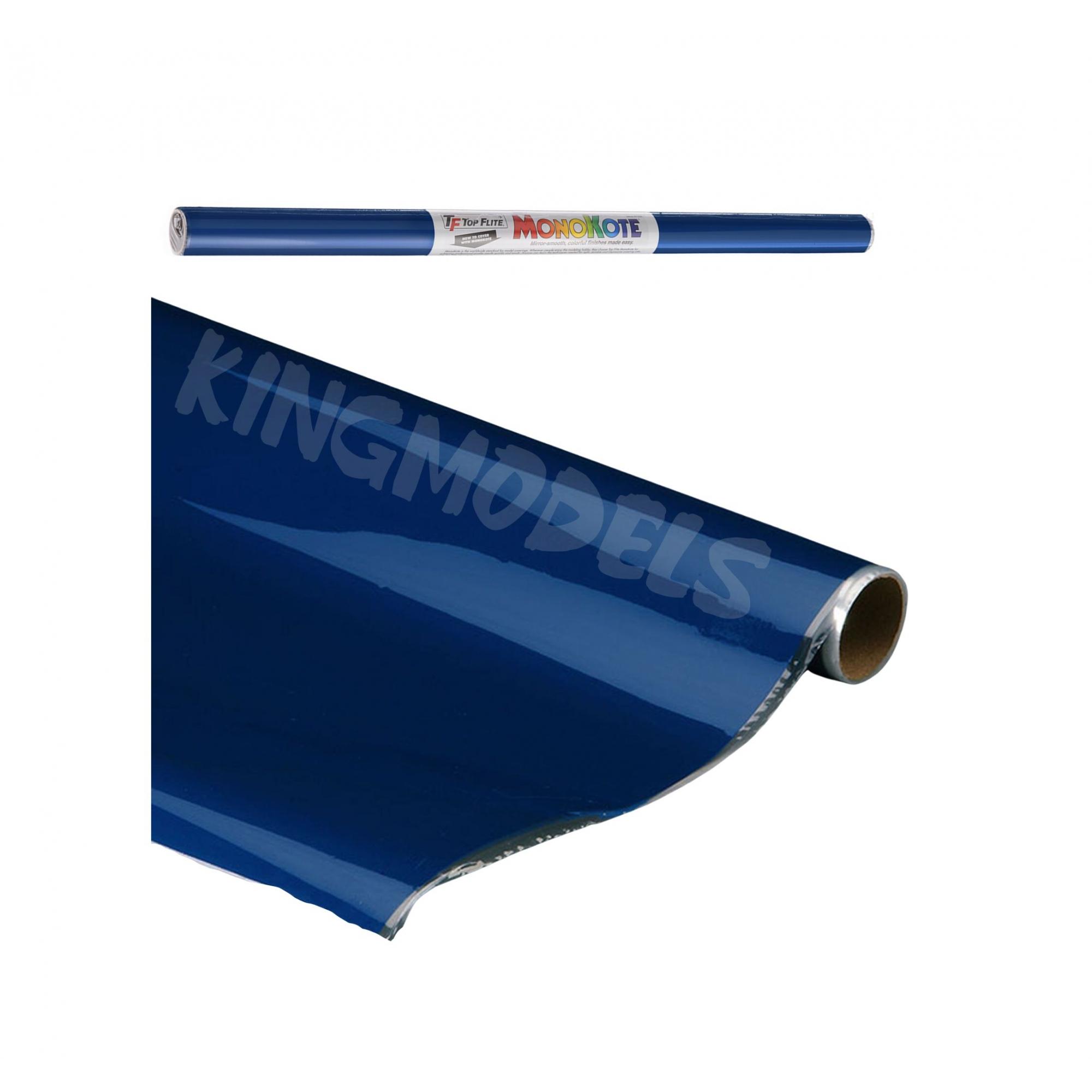 Monokote Topflite(genuino) - Azul(insigniablue)- Topq0207  - King Models