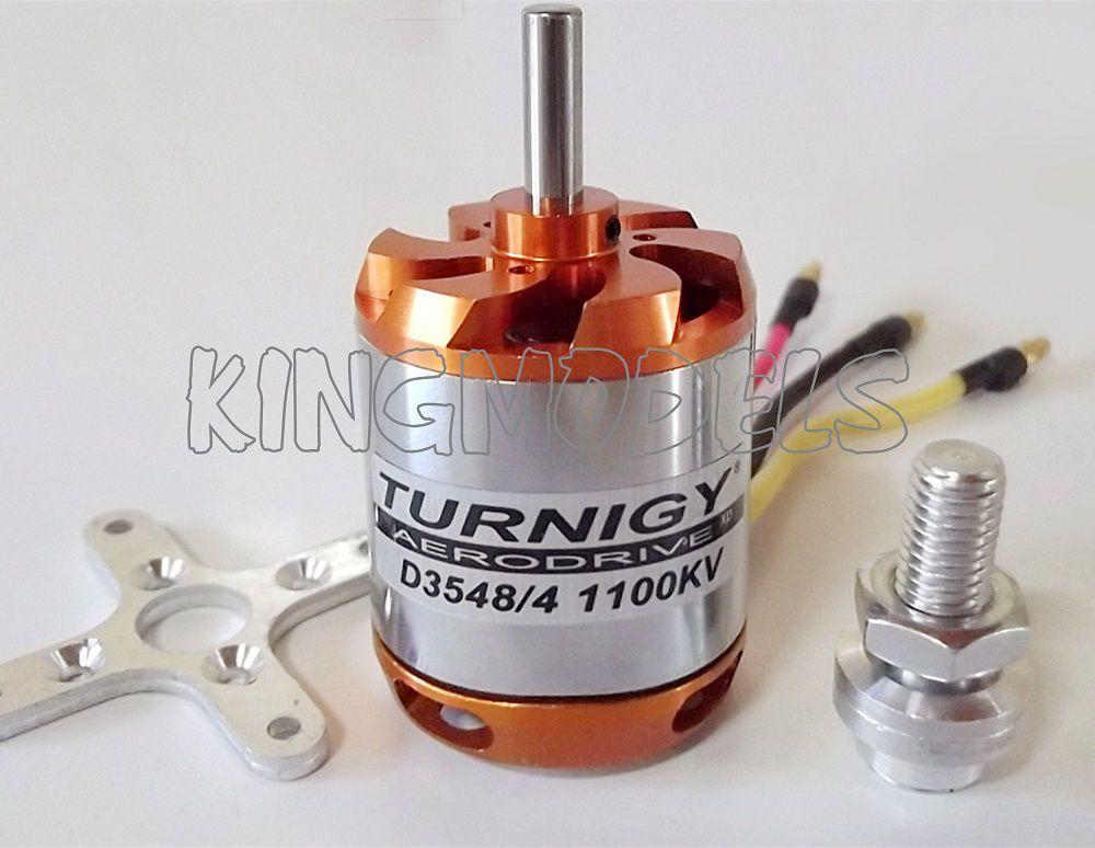 Motor Brushless Turnigy D3548-4 -1100kv - 910w - Aeros 2.3kg  - King Models