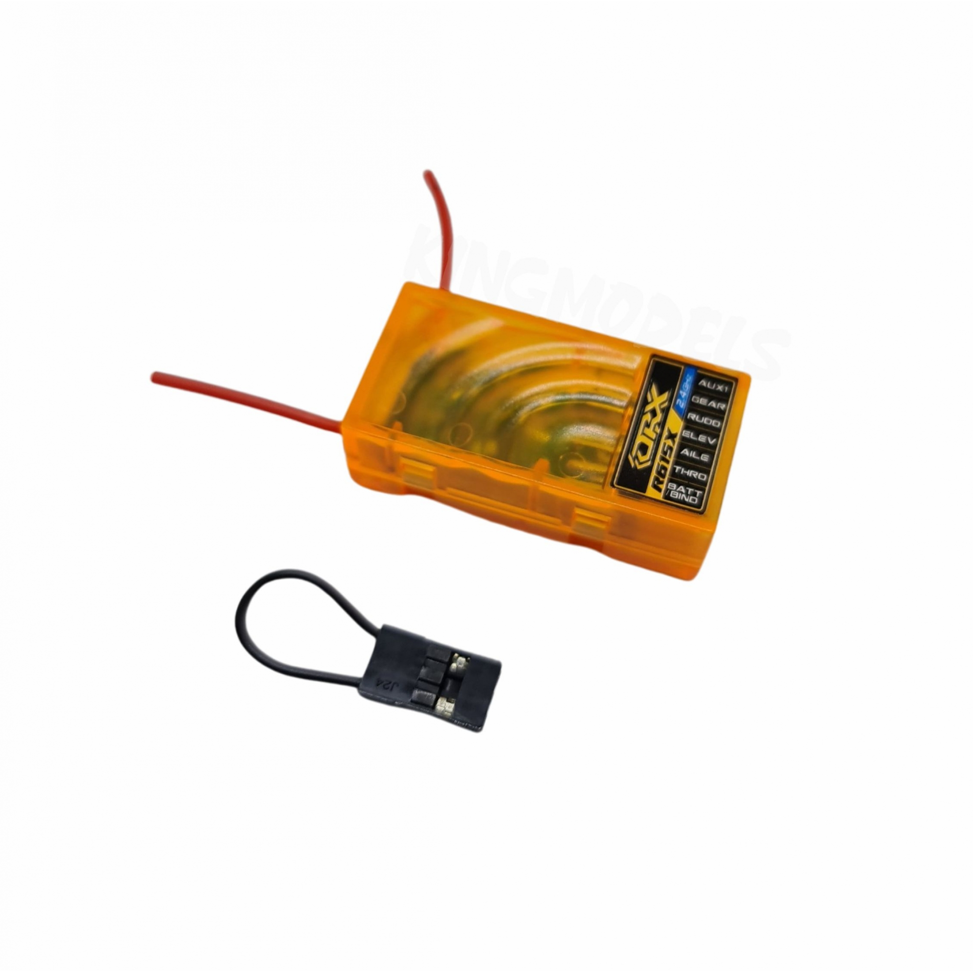 Receptor Orange Spektrum 6ch - R615x Dsm2 Dsmx 6ch Cppm  - King Models