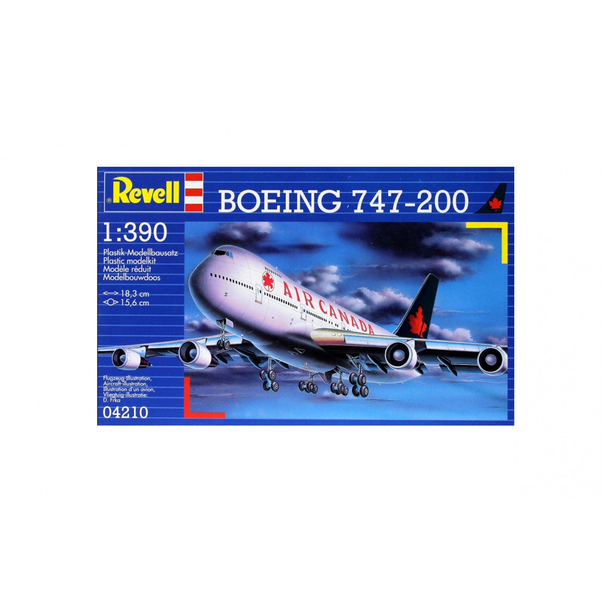 Revell - Boeing 747-200 Air Canada Esc 1:390 Lv.3 - 4210  - King Models