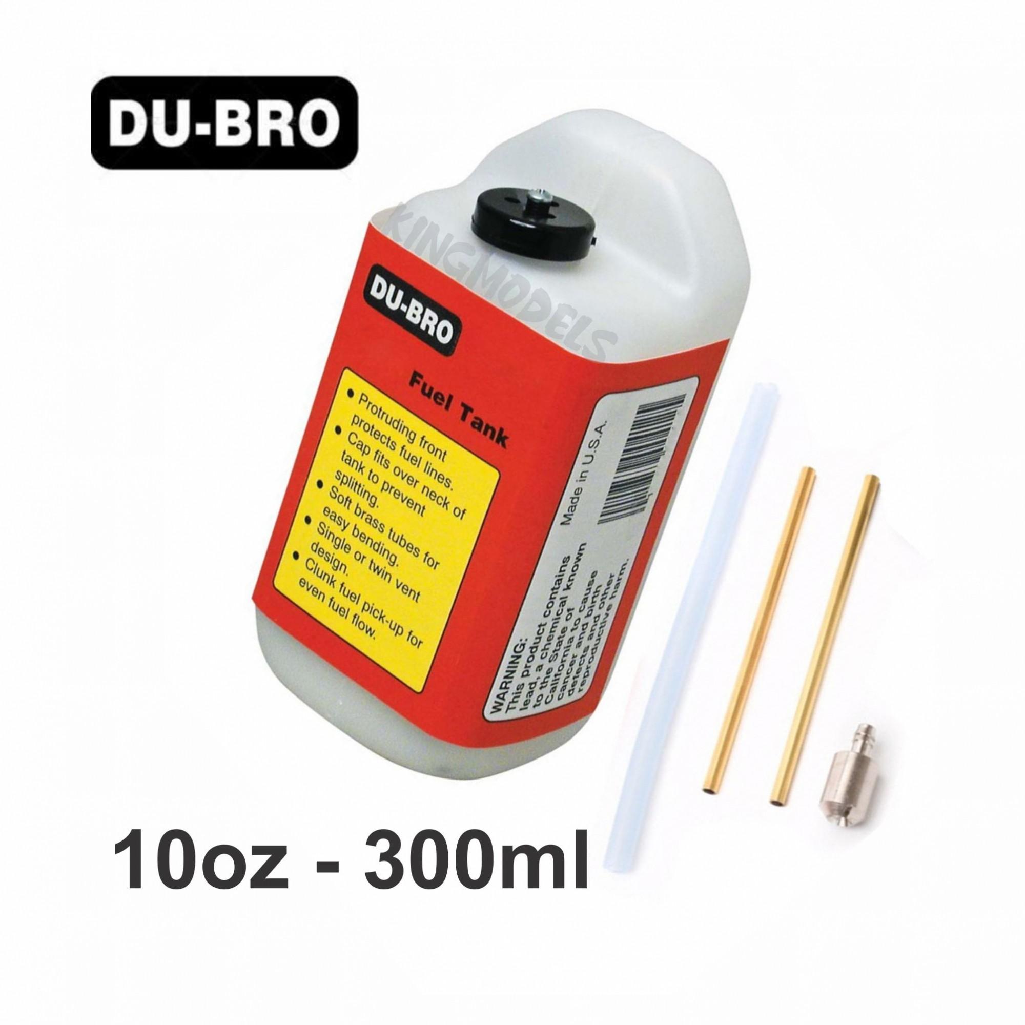 Tanque de Combustível Du-Bro Quadrado - 10oz - 300ml  - King Models