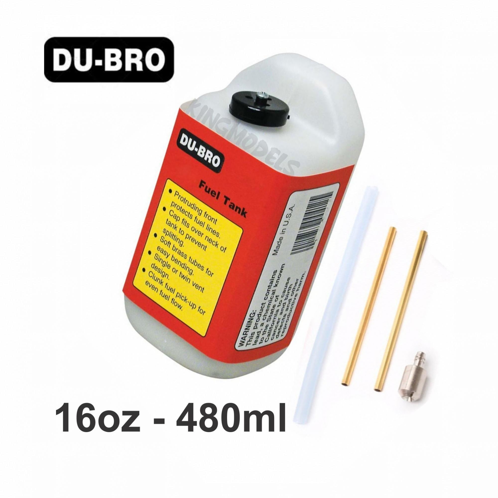 Tanque de Combustível Du-Bro Quadrado - 16oz - 480ml  - King Models