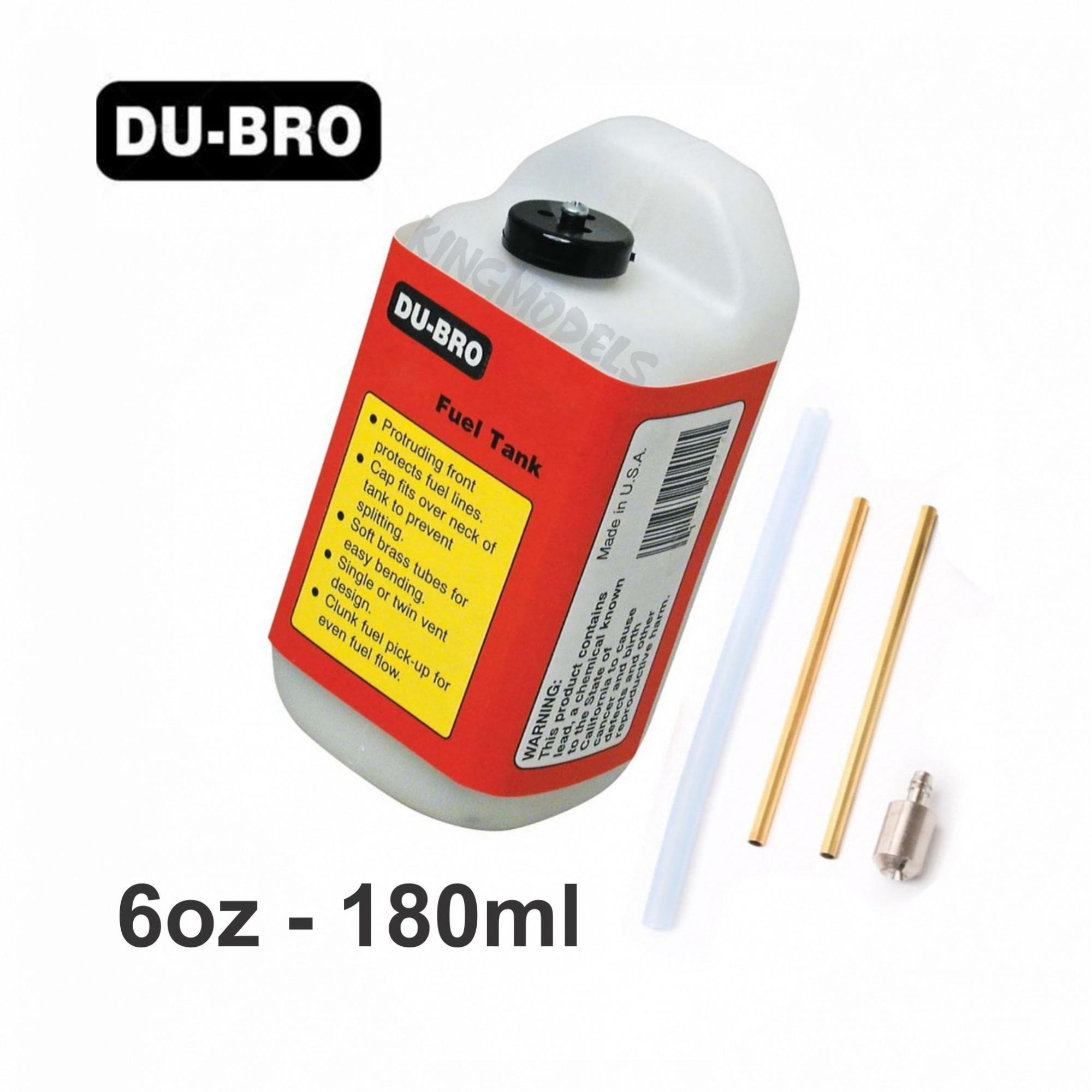 Tanque de Combustível Du-Bro Quadrado -  6oz - 180ml  - King Models