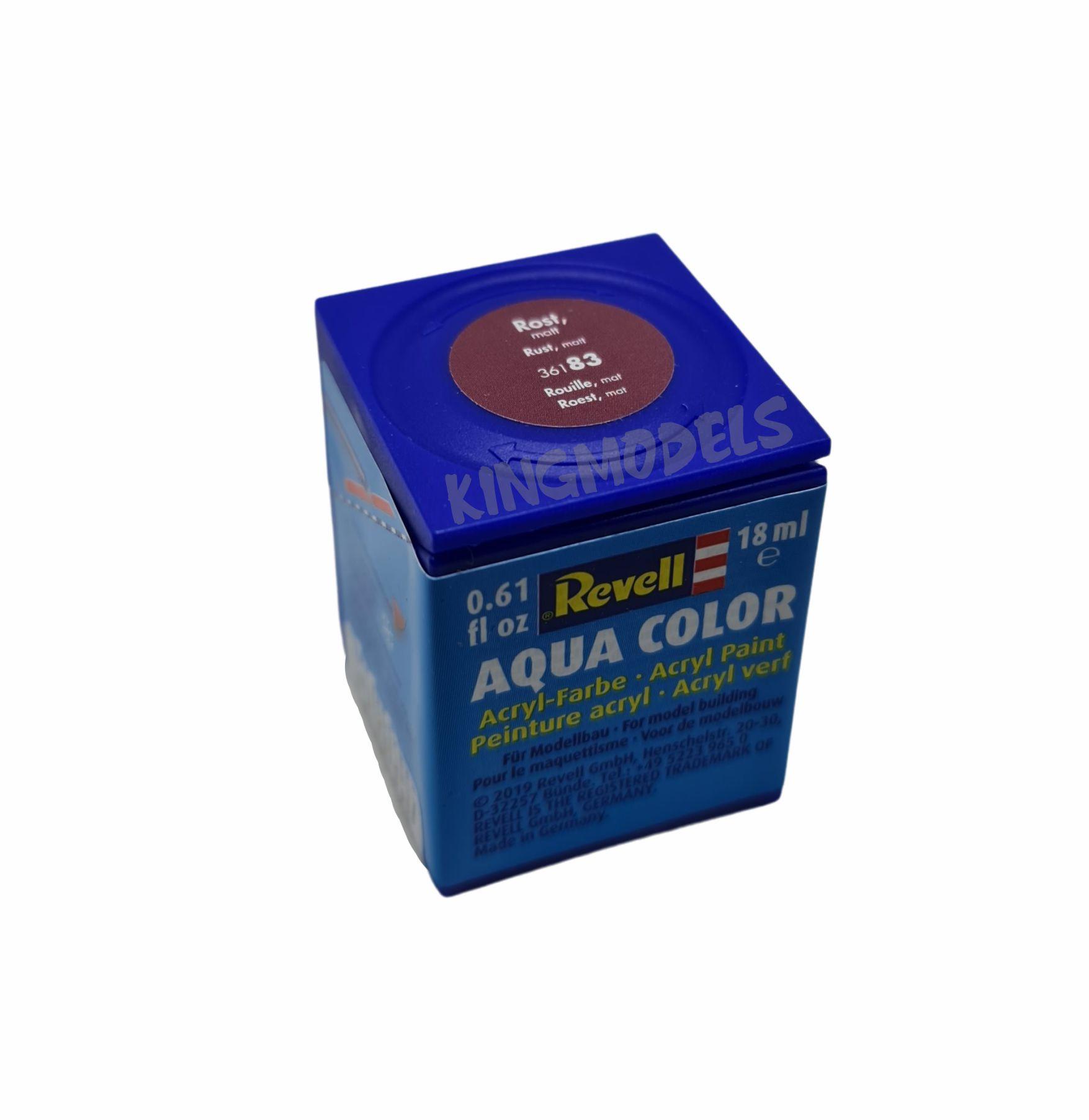 Tinta Revell - Aqua Color - Cód 36183 - Ferrugem F -18ml  - King Models