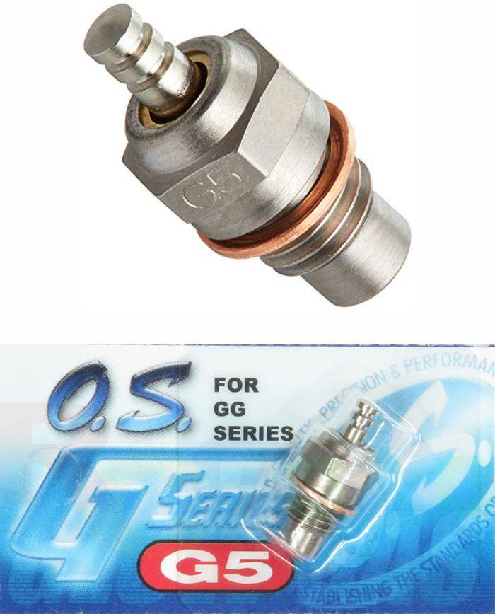 Vela Os Engines Modelo G5 para Motores Gasolina Os 10/15cc - Original!  - King Models