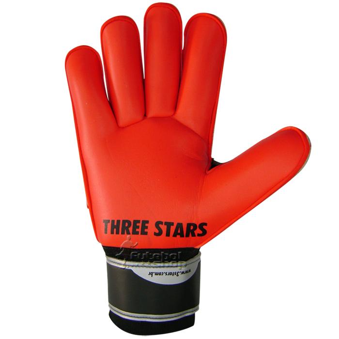 Luva Goleiro Futebol Three Stars Mega