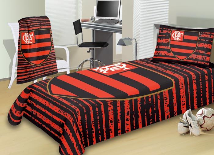Jogo de Cama Solteiro Buettner Flamengo