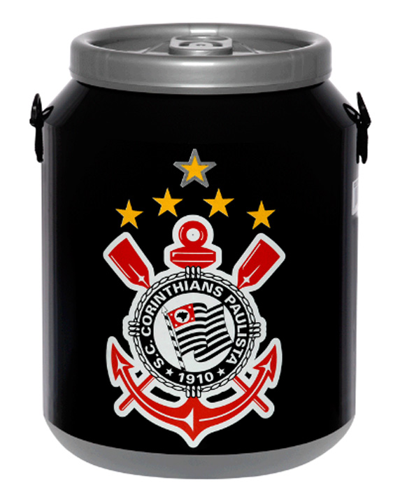 Cooler do Corinthians 12 latas - DC12