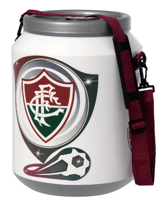 Cooler do Fluminense 12 latas - DC12