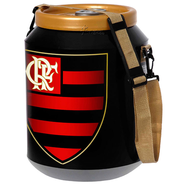 Cooler do Flamengo 12 latas - DC12