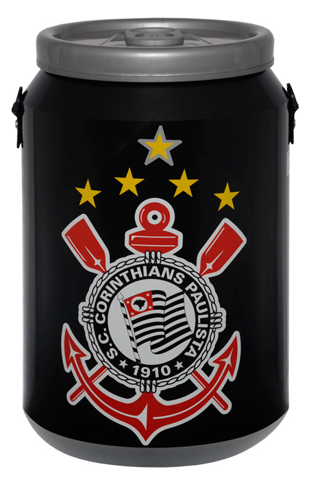 Cooler do Corinthians 24 latas - DC24