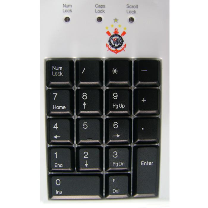Teclado Fantech USB Corinthians
