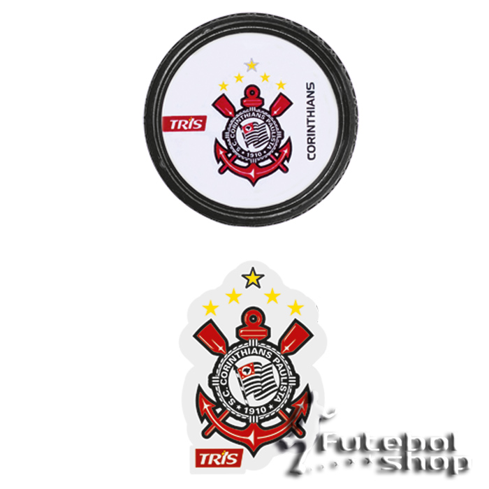 Basic Set Escolar Corinthians (apontador + borracha)