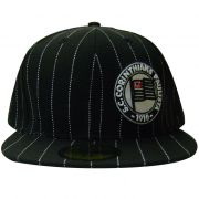 Boné New Era Corinthians Listrado 59 Fifty