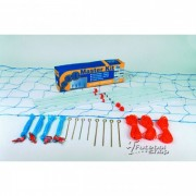 Kit Peteca Master Rede Reforçado 15 x 7 Metros