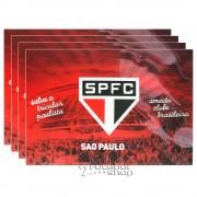Jogo Americano do São Paulo c/4 unidades