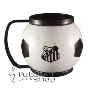 Mini Caneca Mugball do Santos