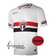Camisa Juvenil do São Paulo FC 1 2015 S/N - 301820