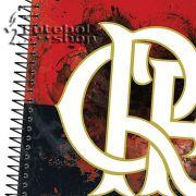 Caderno 1/8 Capa Dura - Caderneta Espiral Flamengo