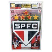Adesivo Reaplicável Escudo do São Paulo - Decoração