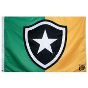 Bandeira do Botafogo + Brasil Sublimada 128 x 90