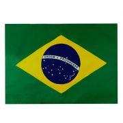 Bandeira do Brasil Torcedor 128 x 90 cm Mitraud