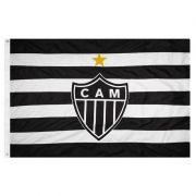 Bandeira Oficial do Atlético Mineiro 128 x 90 cm -  2 Panos