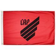 Bandeira Oficial do Atlhetico Paranaense Vermelha 128 x 90 cm -  2 Panos
