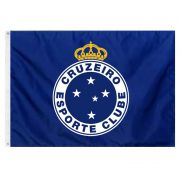 Bandeira Oficial do Cruzeiro 98 x 68 cm - 1 1/2 pano