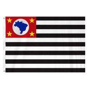 Bandeira Oficial  do Estado de São Paulo 160 x 113 cm - 2 1/2 panos