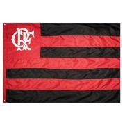 Bandeira Oficial do Flamengo 128 x 90 cm - 2 panos