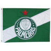 Bandeira Oficial do Palmeiras 256 x 180 cm - 4 Panos