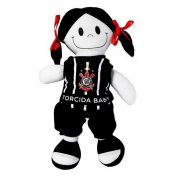 Boneca de Pano do Corinthians - Torcida Baby 238B