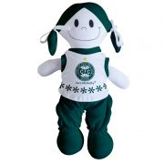 Boneca Mascote do Coritiba - Torcida Baby 238B