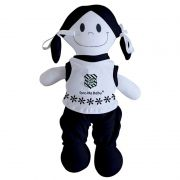 Boneca Mascote do Figueirense - Torcida Baby 238B