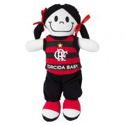 Boneca de Pano do Flamengo - Torcida Baby 238B