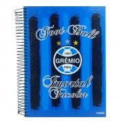 Caderno Universitário Grêmio 10 Matérias 200 folhas