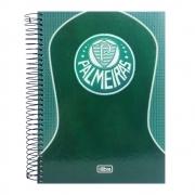 Caderno Universitário Palmeiras 10 Matérias 200 folhas