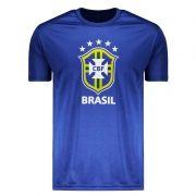 Camisa do Brasil Logo 2018 Azul - CB0210004